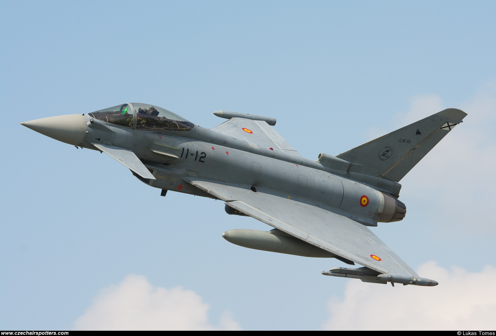Spain - Air Force – Eurofighter EF-2000 Typhoon S C16-33