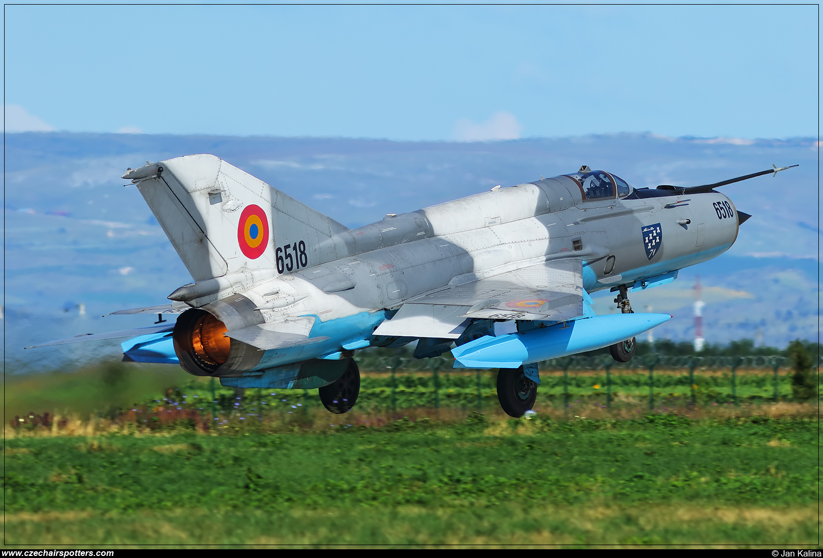 Romania - Air Force  – Mikoyan-Gurevich MiG-21MF Lancer C 6518