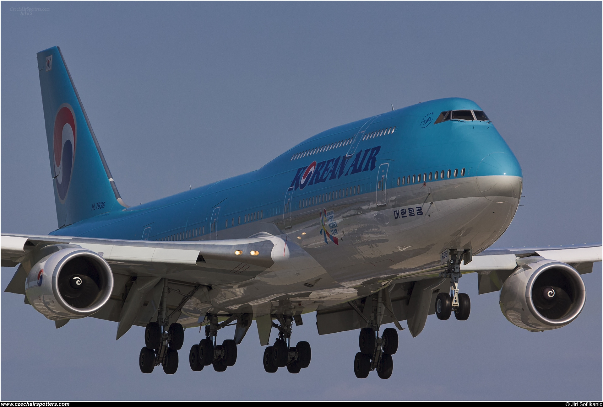 Korean Air (KAL) – Boeing B747-8B5 HL7636