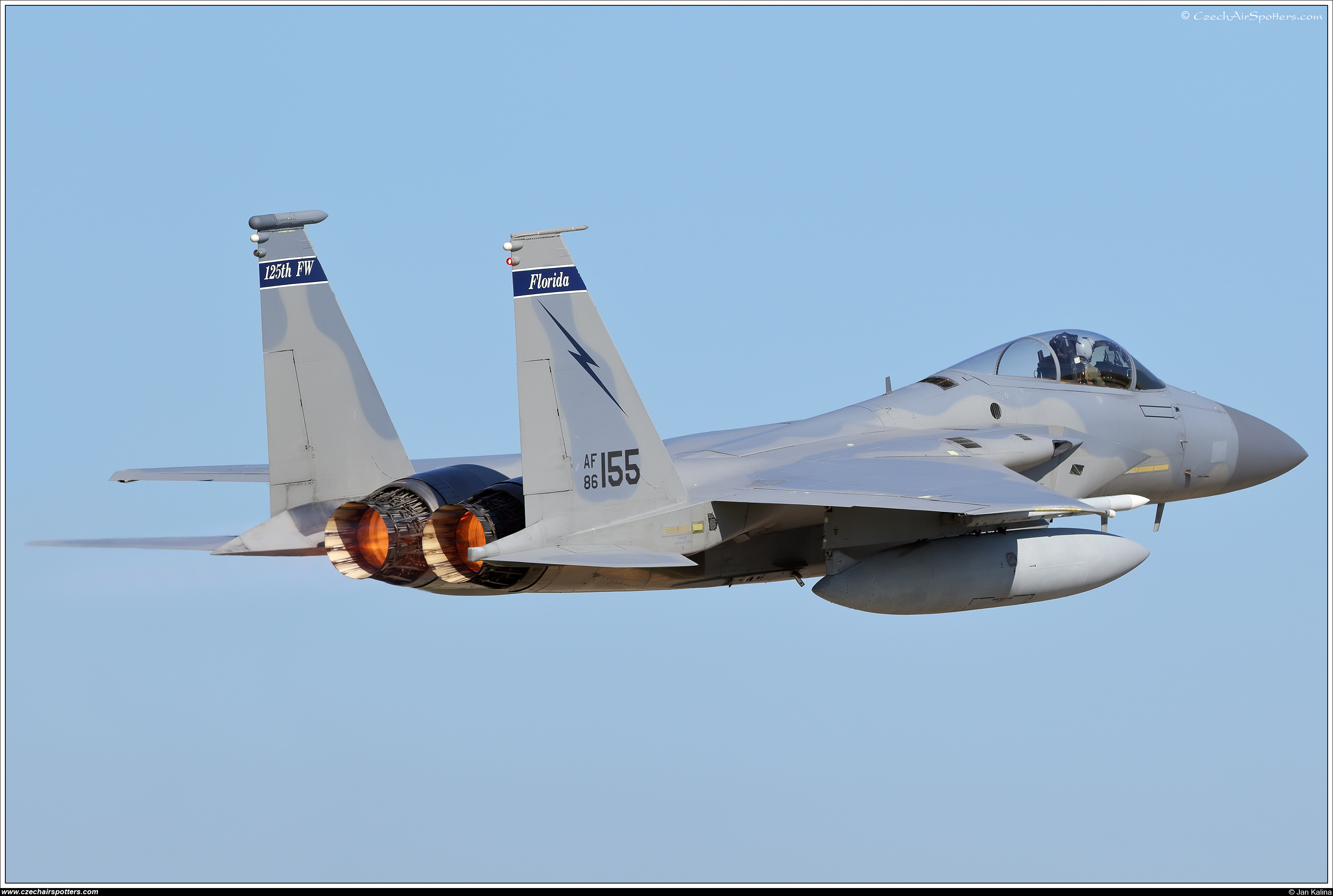 USA - Air Force – McDonnell Douglas F-15C Eagle 86-0155