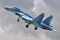 Ukraine - Air Force – Sukhoi Su-27 Flanker-B 58 BLUE