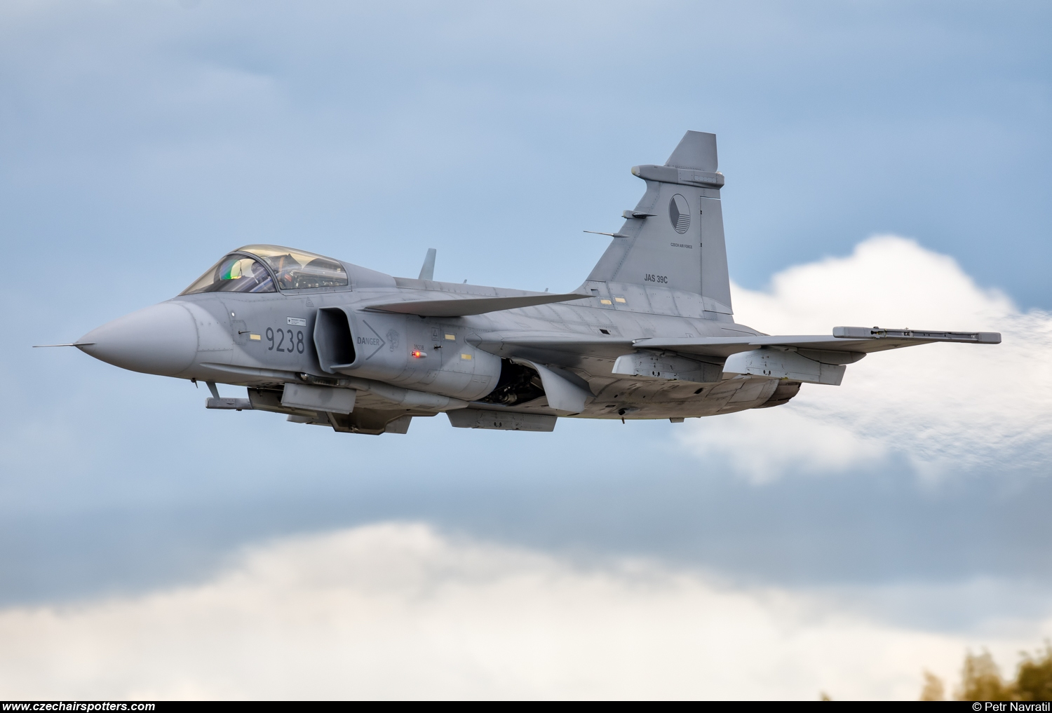 Czech - Air Force – Saab JAS39C Gripen 9238