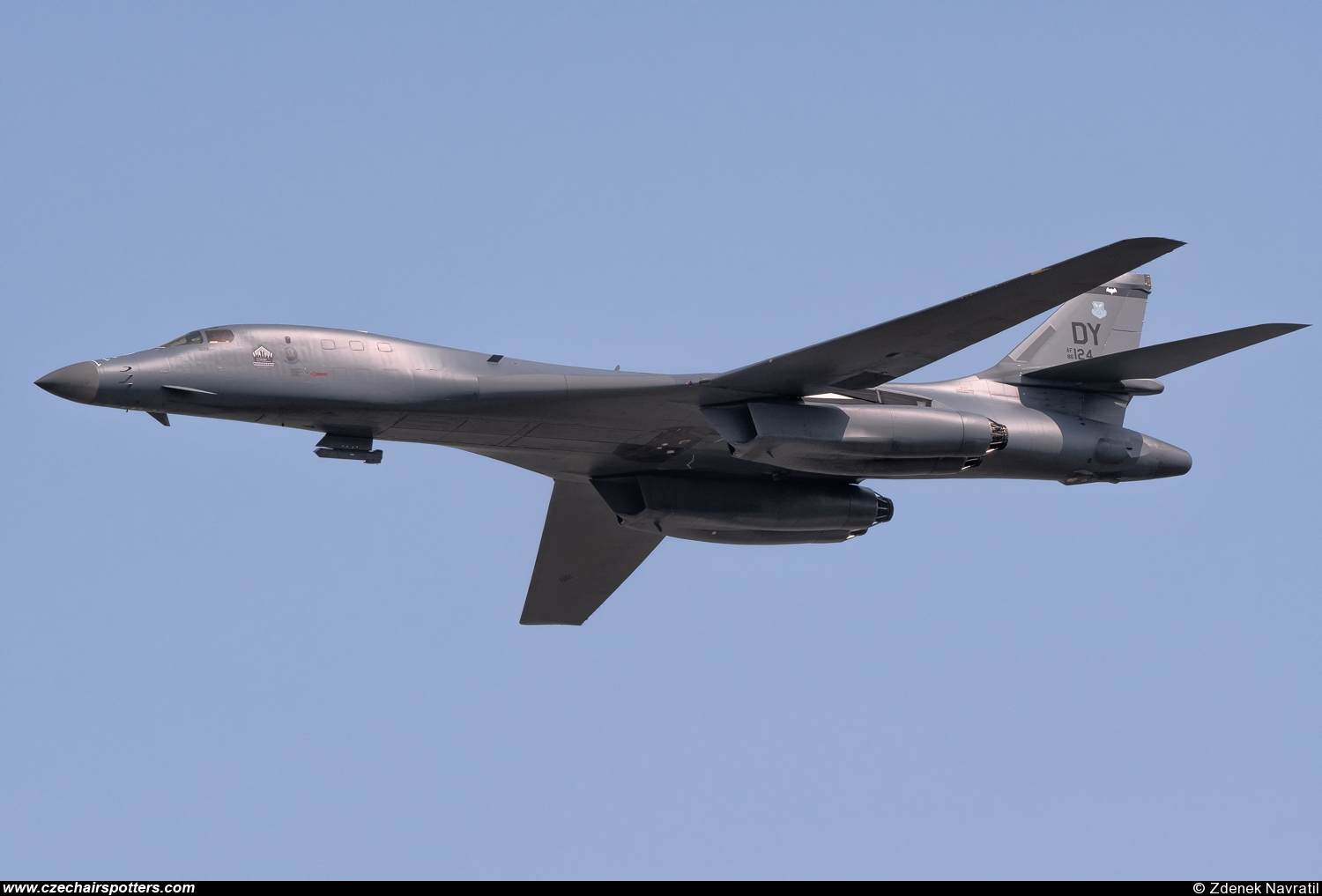 USA - Air Force – Rockwell B-1B Lancer 86124/DY
