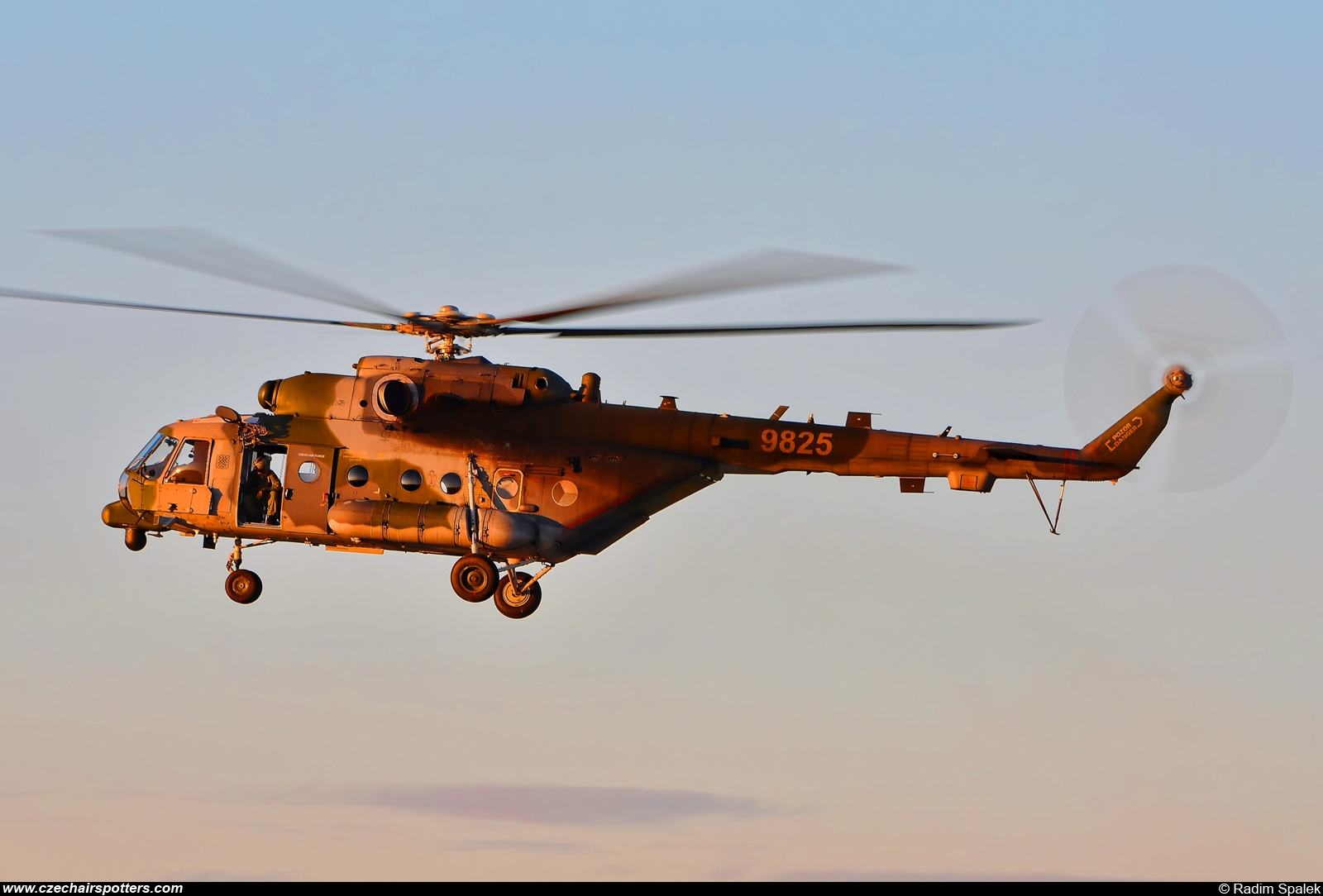 Czech - Air Force – Mil Mi-17-1ShM Hip 9825
