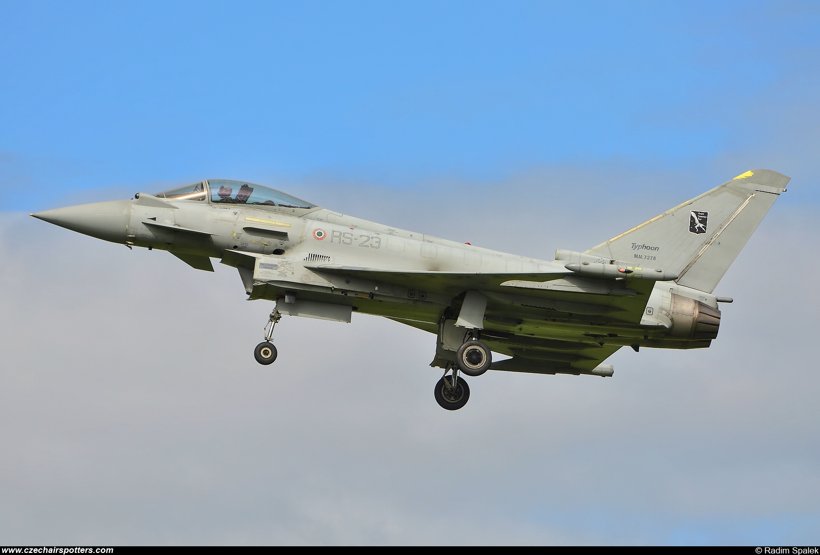 Italy - Air Force – Eurofighter EF-2000 Typhoon S MM7278/RS-23