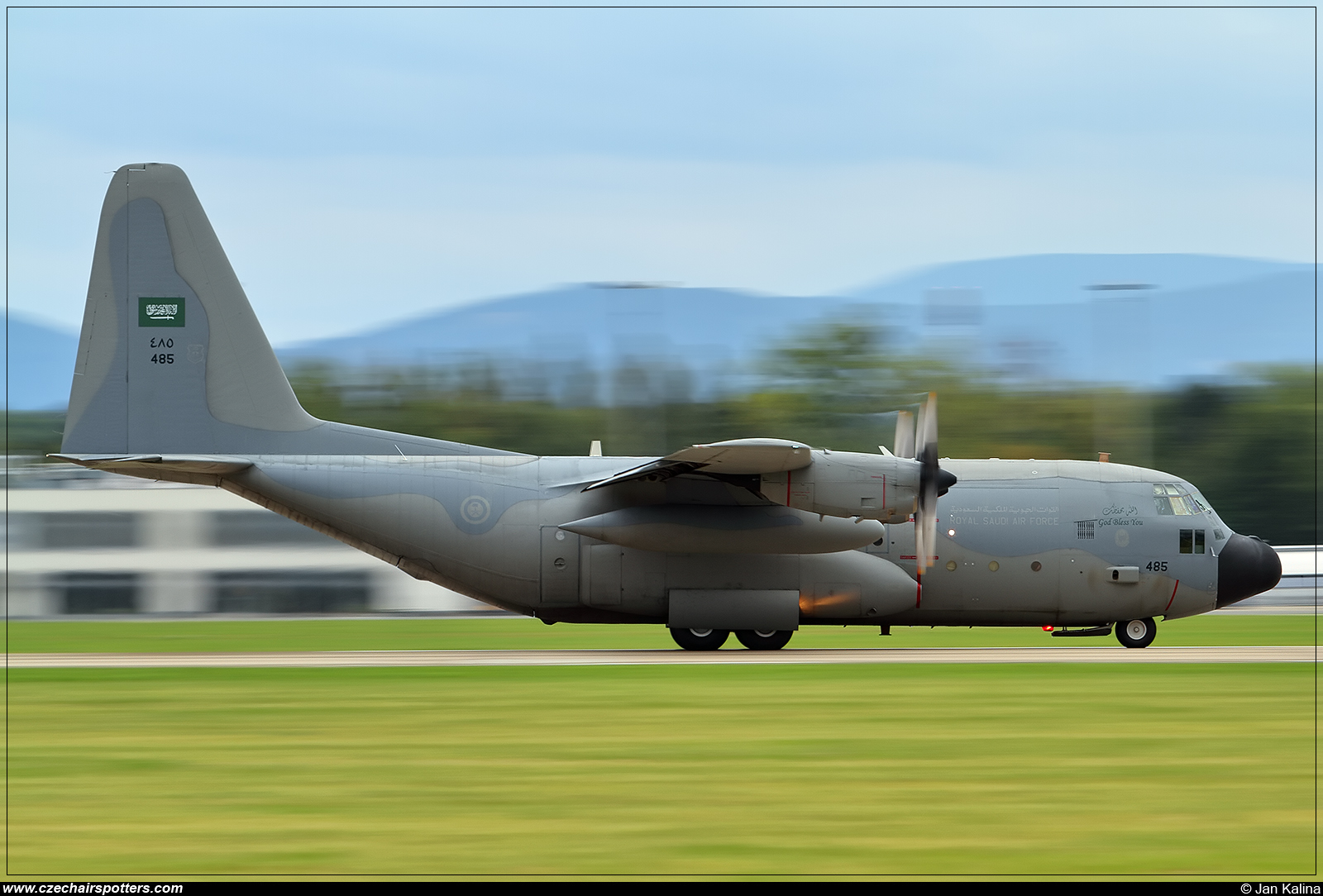 Royal Saudi - Air Force – Lockheed VC-130H Hercules 485