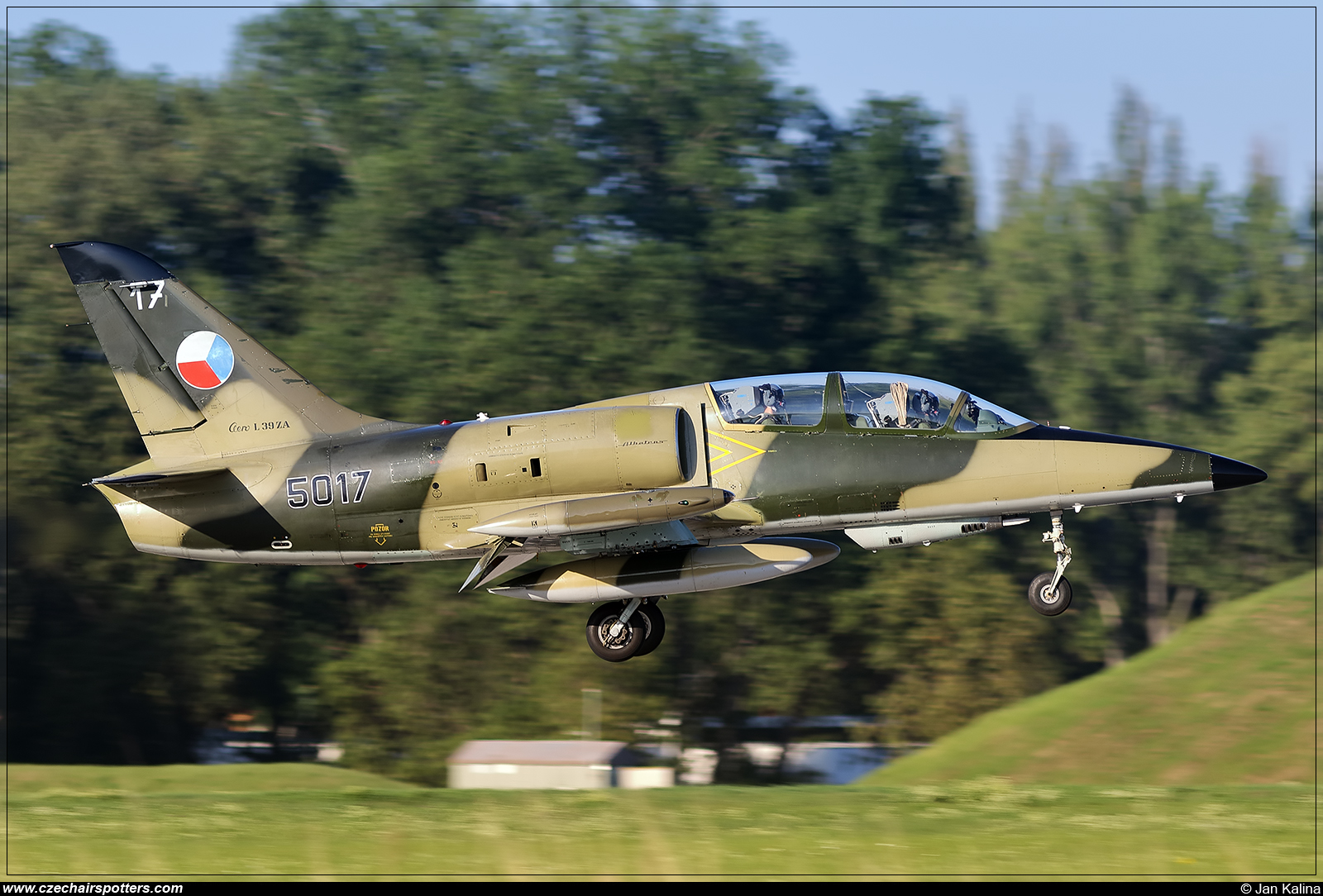 Czech - Air Force – Aero L-39ZA Albatros 5017
