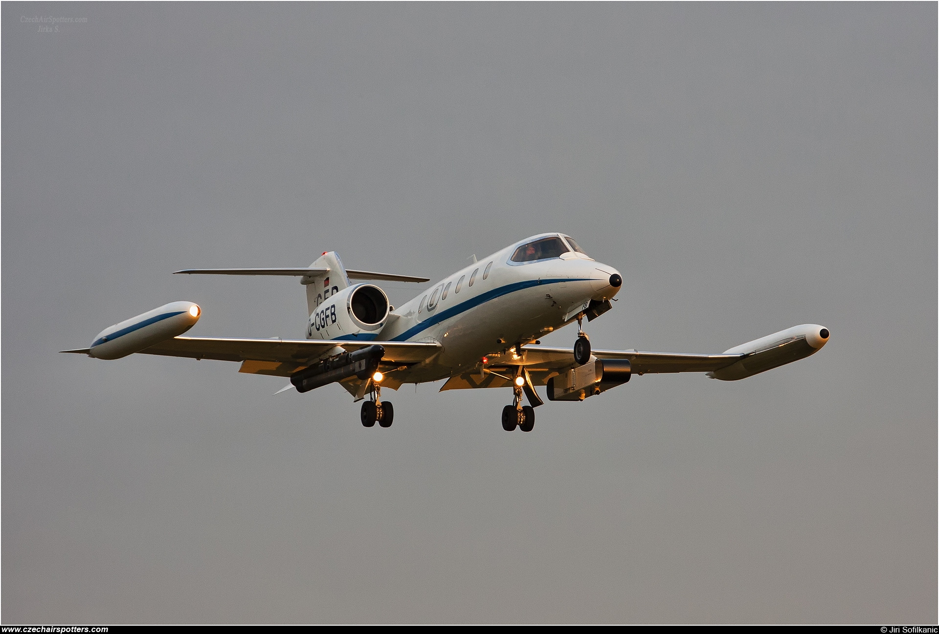 GFD – Bombardier Gates Learjet UC-35A D-CGFB