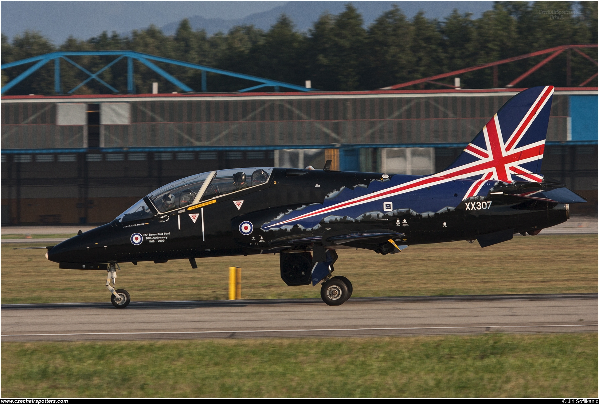 UK - Air Force – British Aerospace Hawk T1A XX307