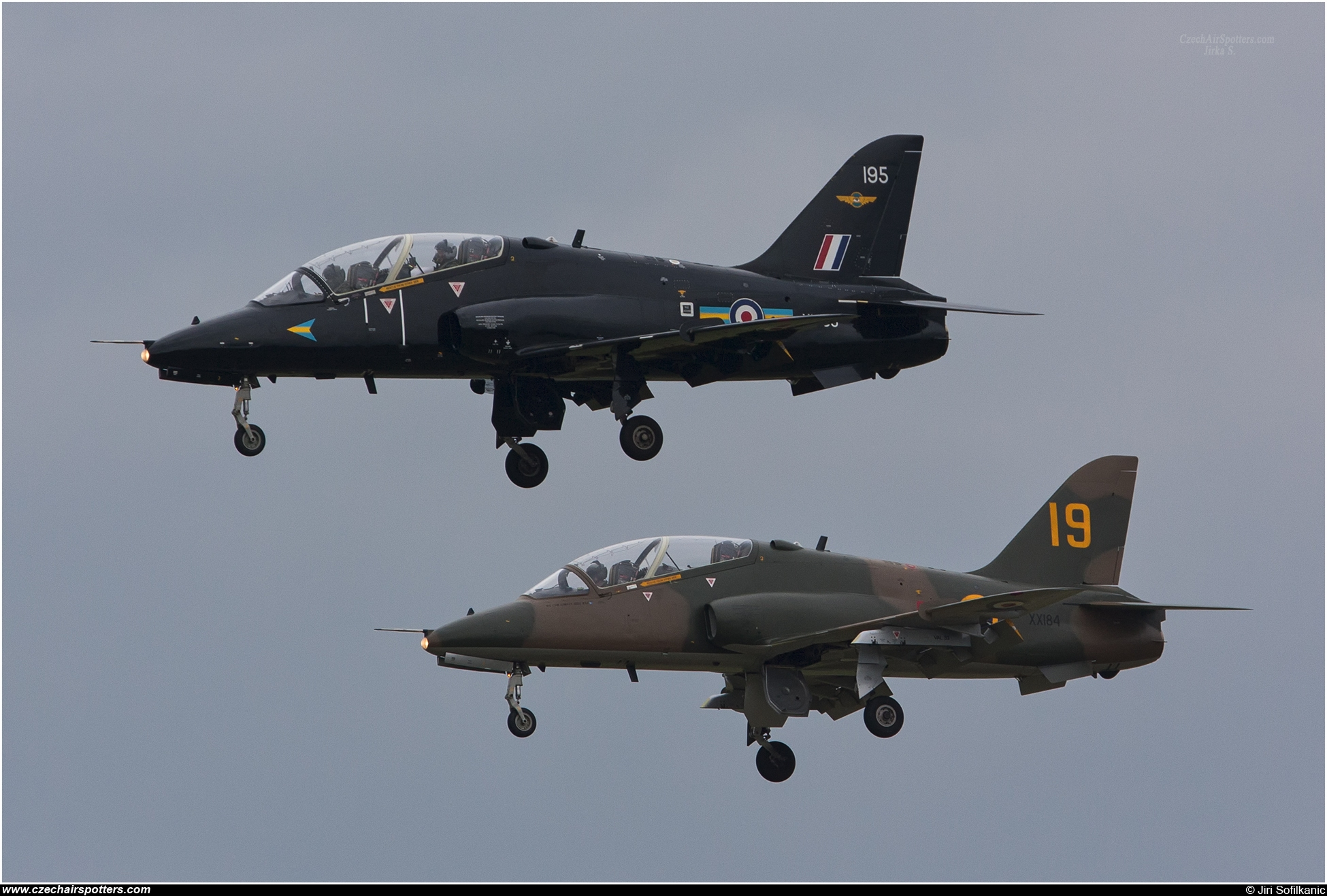 UK - Air Force – British Aerospace Hawk T1A XX184