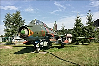 East Germany - Air Force – Sukhoi Su-22 M-4 Fitter 734