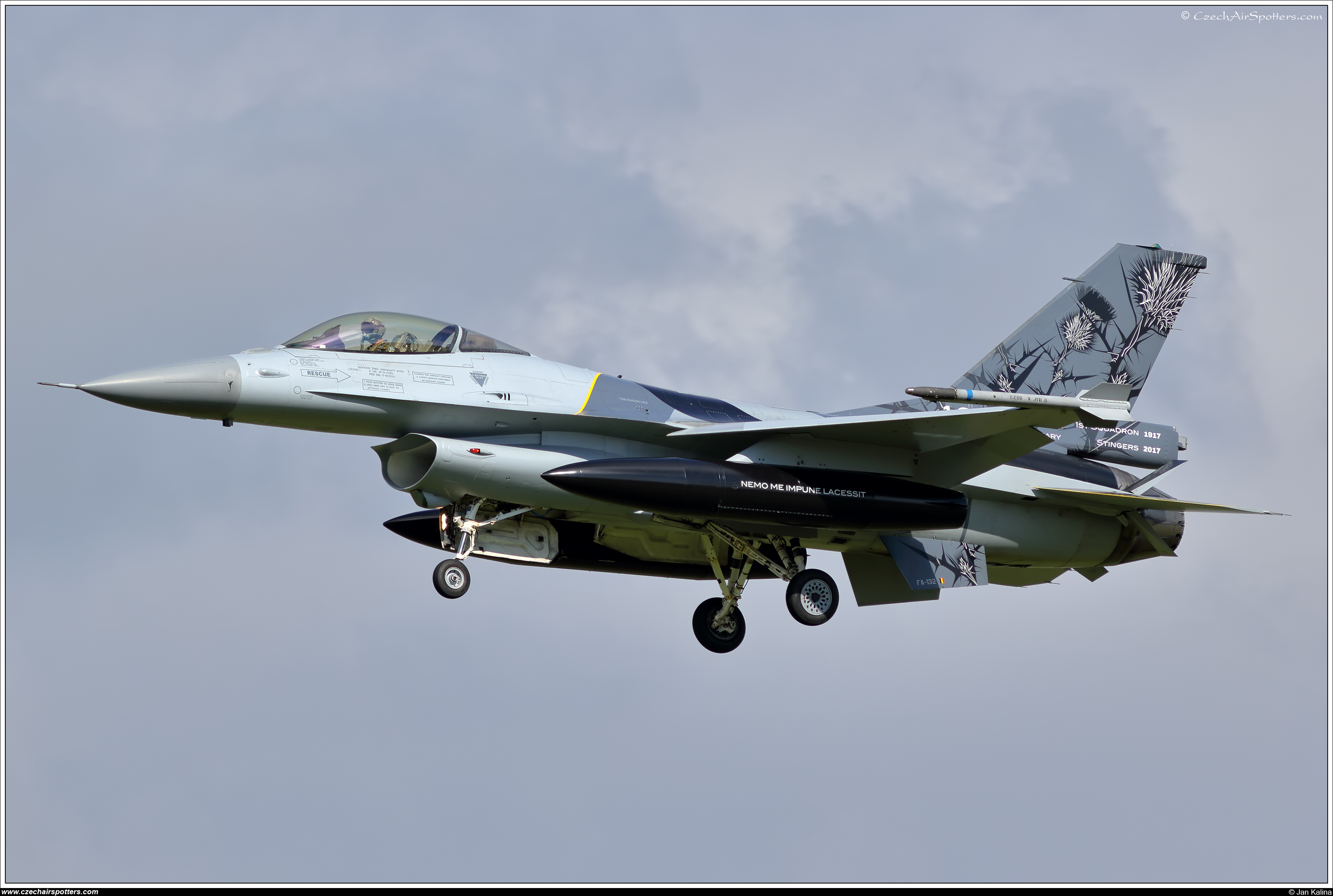 Belgium - Air Force – SABCA F-16AM Fighting Falcon FA-132