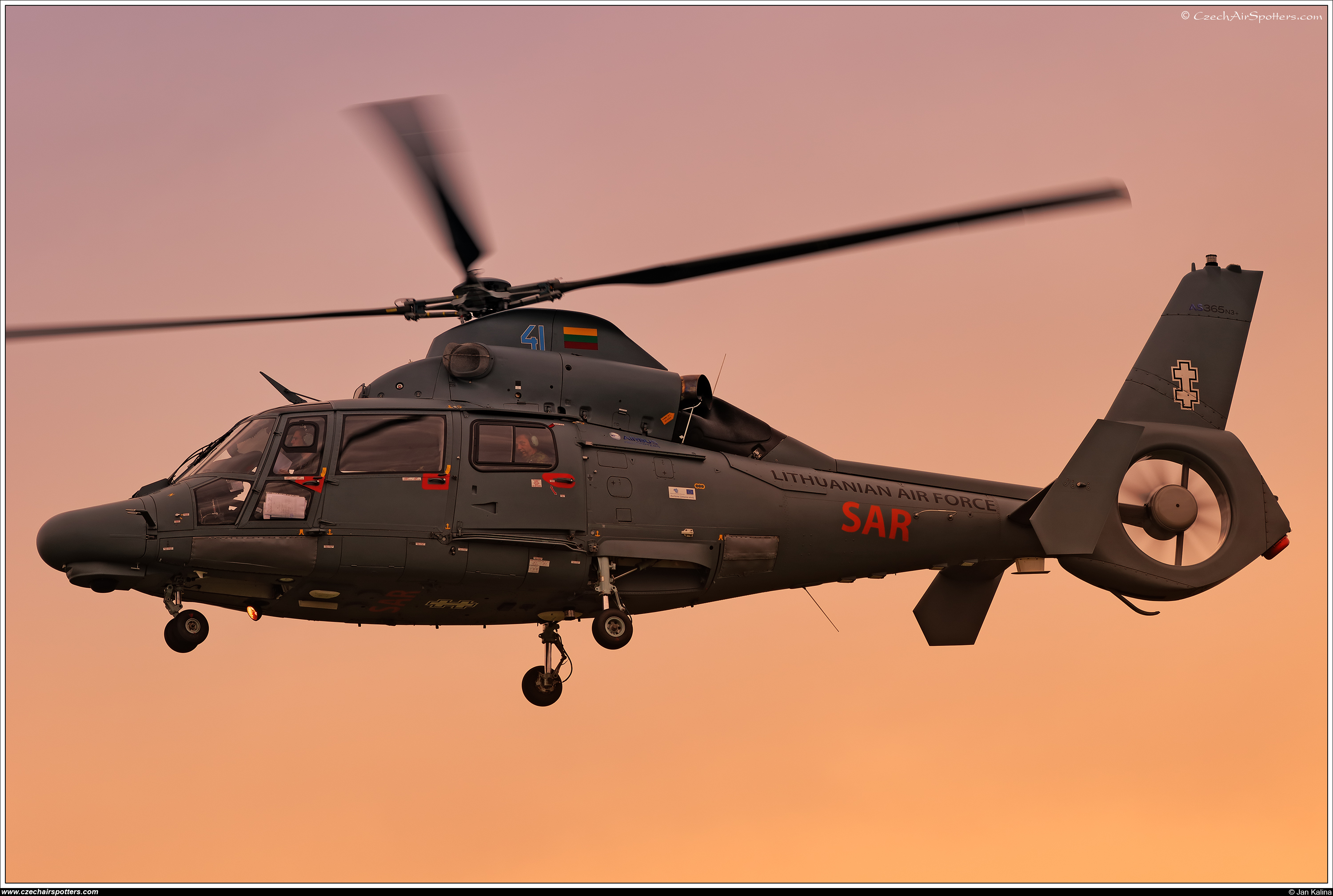Lithuania - Air Force – Eurocopter AS 365 N3+ Dauphin 41