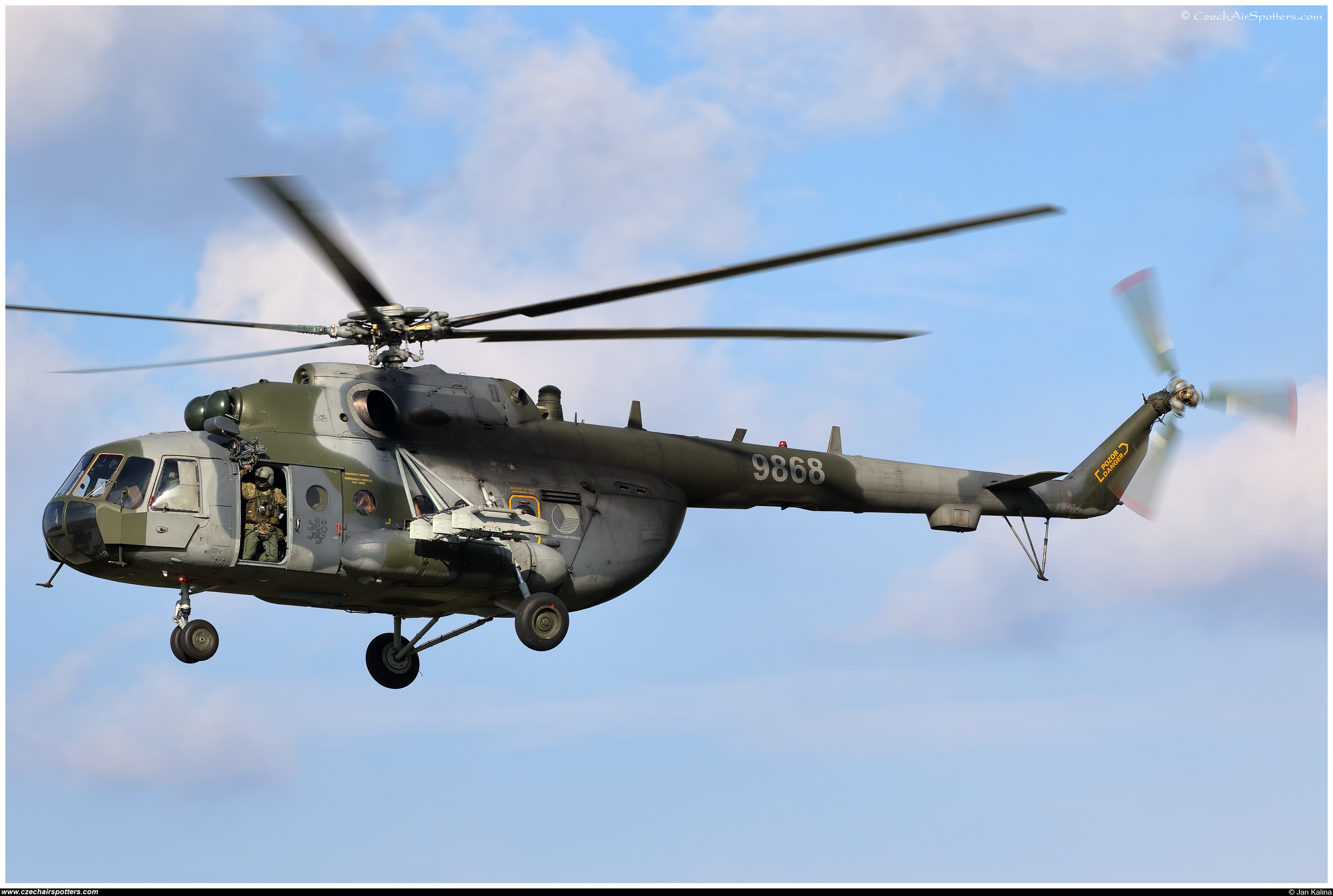 Czech - Air Force – Mil Mi-171Sh Hip  9868