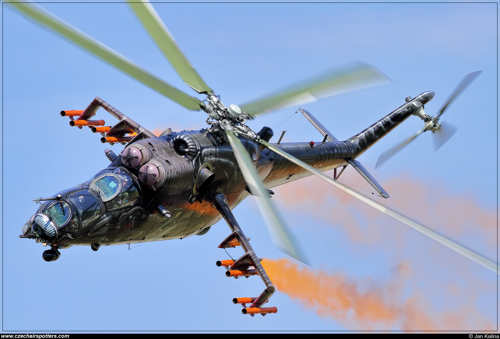 Czech - Air Force – Mil Mi-35 Hind  3366
