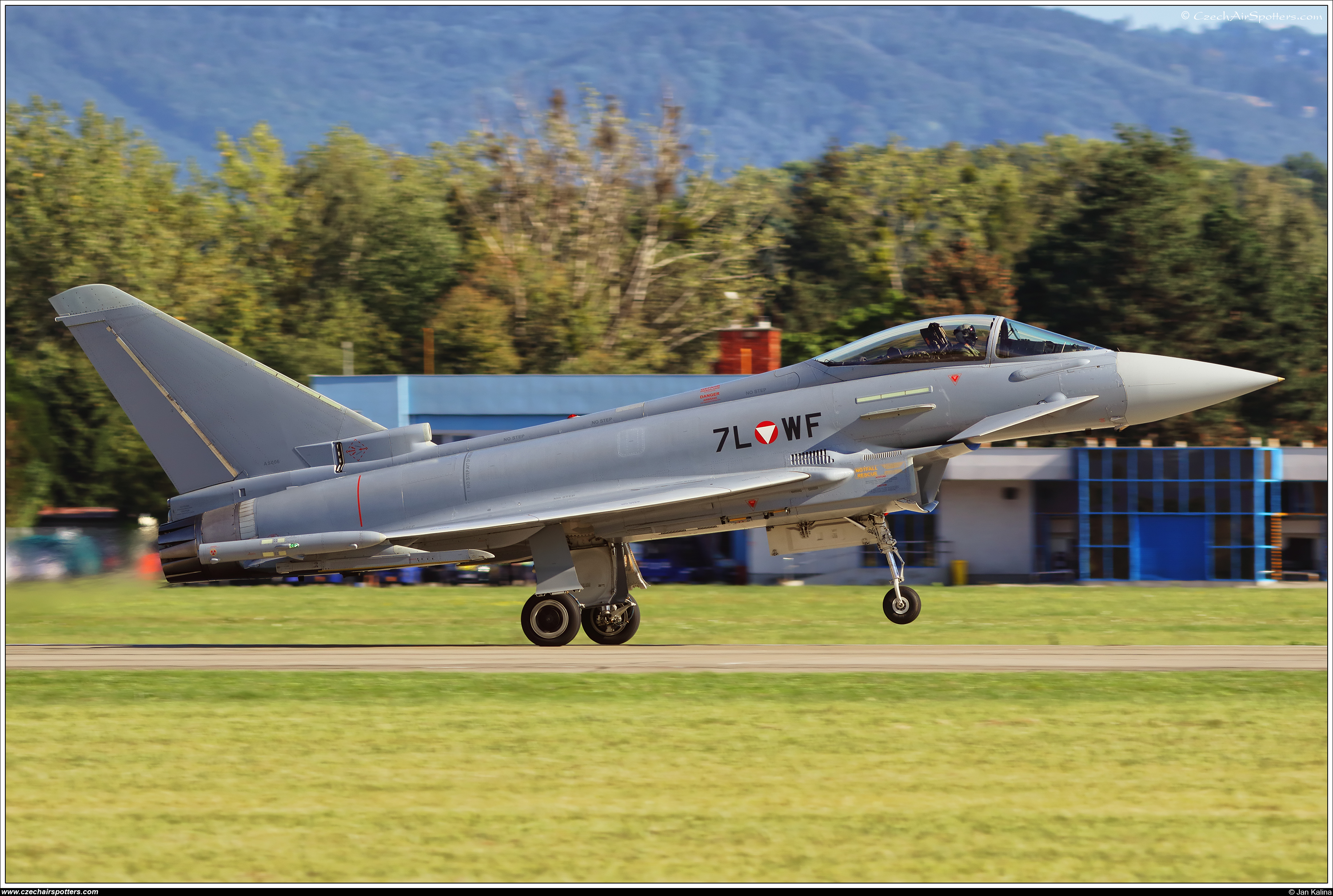 Austria - Air Force – Eurofighter EF-2000 Typhoon S 7L-WF