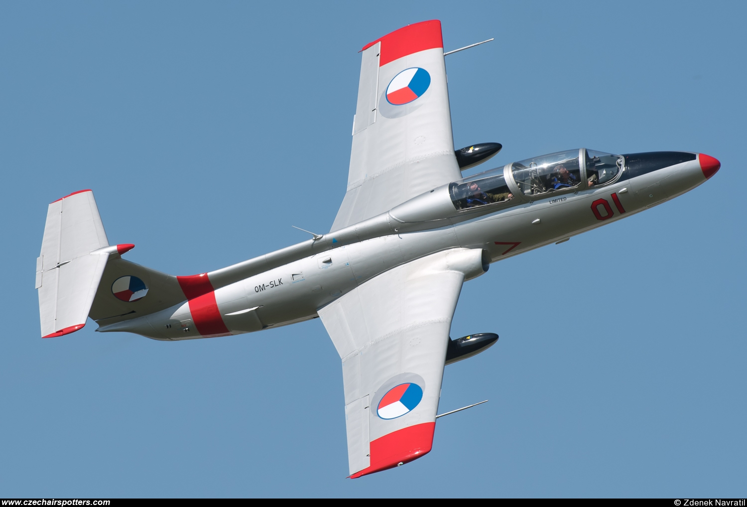 private – Aero L-29 Delfin OM-SLK