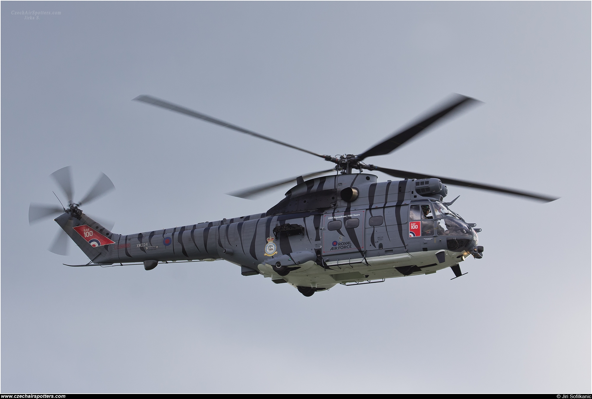 UK - Air Force – Aerospatiale SA-330E Puma HC2  XW224