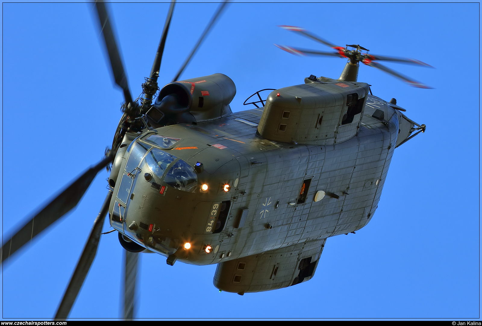 Germany - Air Force – VFW-Fokker CH-53GA 84+39