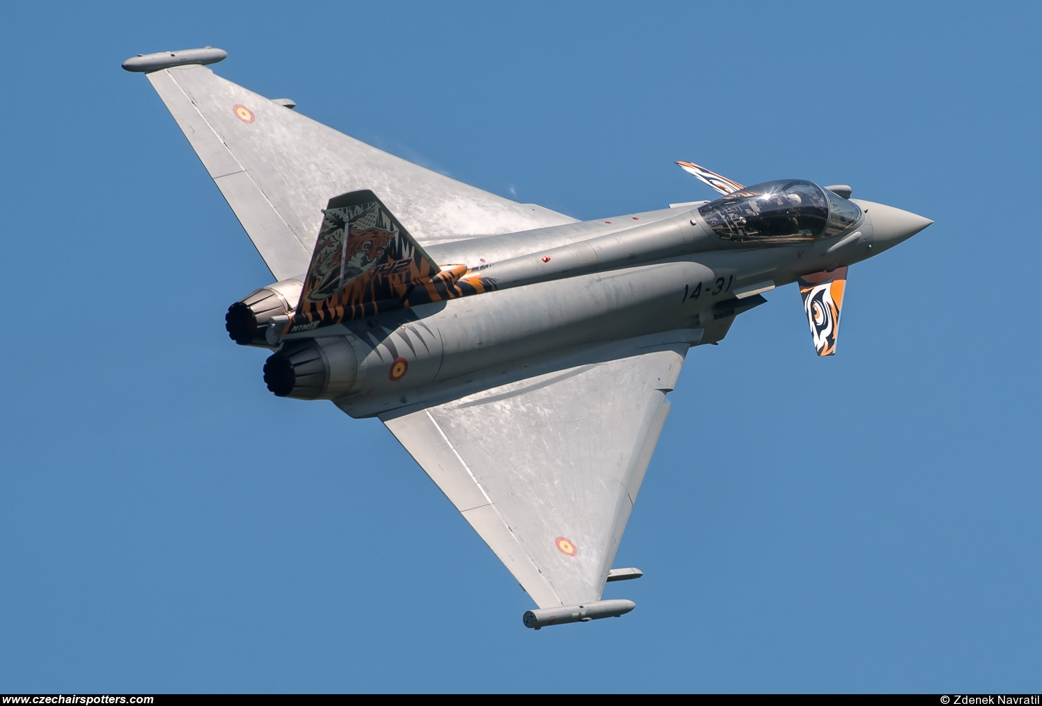 Spain - Air Force – Eurofighter EF-2000 Typhoon S 14-31