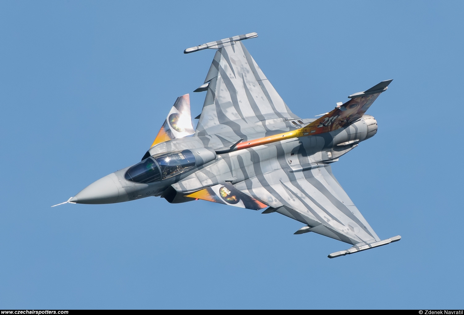 Czech - Air Force – Saab JAS39C Gripen 9241
