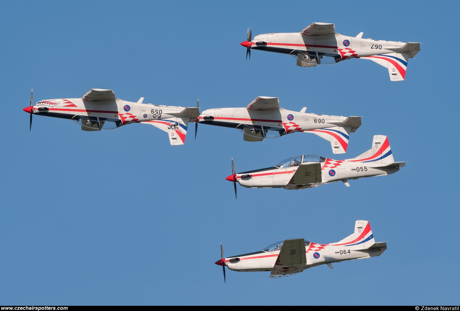 Croatia - Air Force – Pilatus Aircraft PC-9M 059
