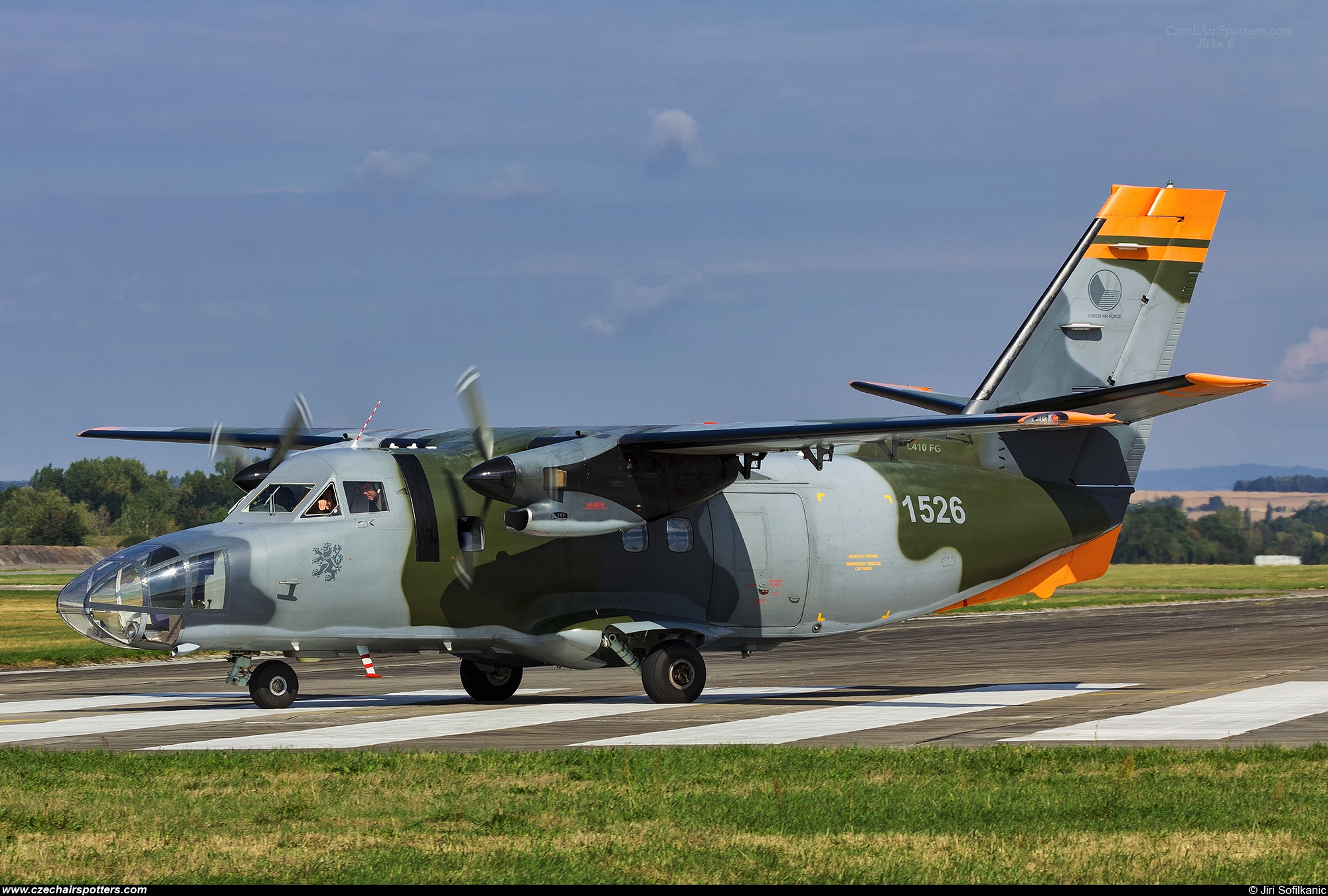Czech - Air Force – Let L-410FG Turbolet  1526