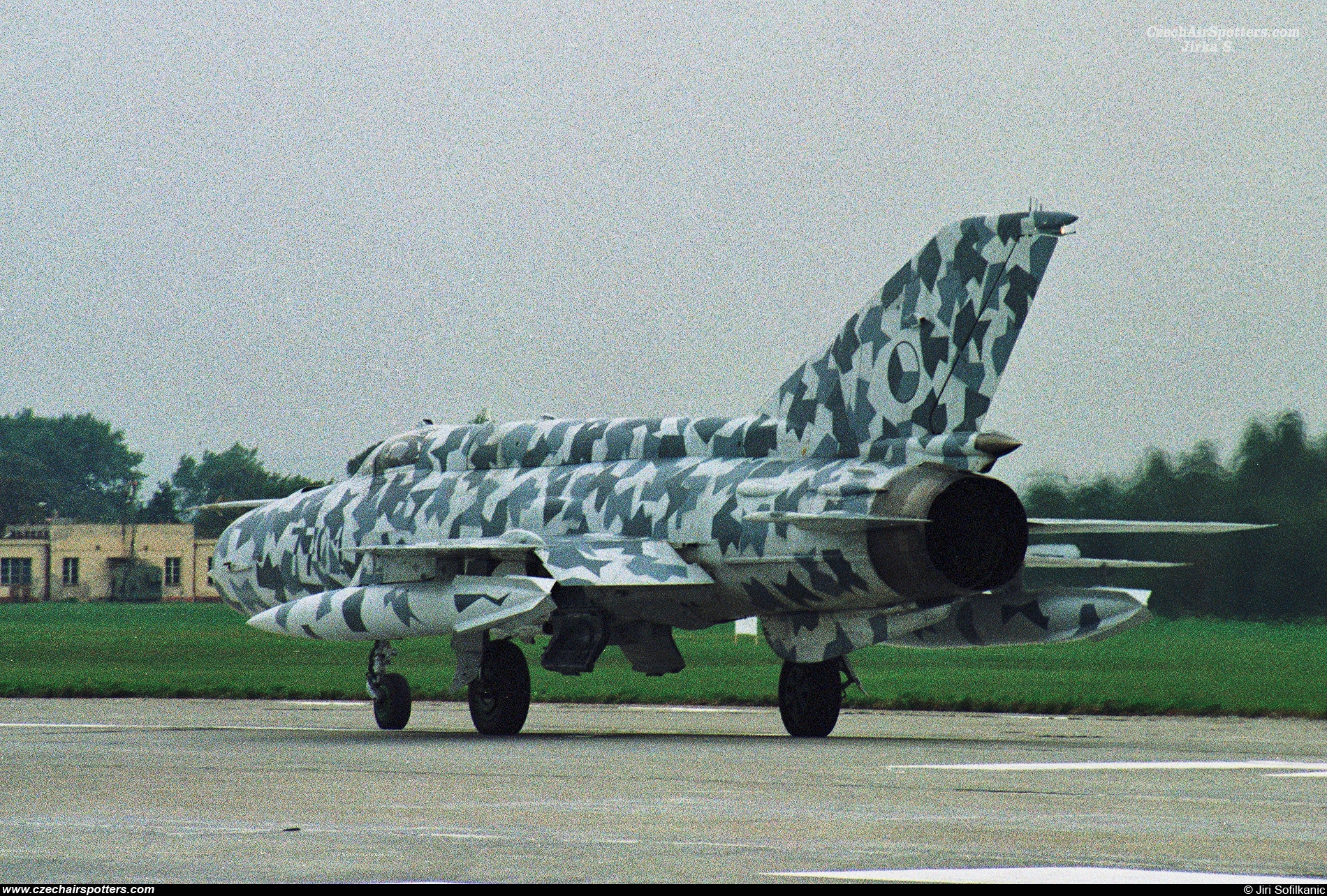 Czech - Air Force – Mikoyan-Gurevich MiG-21MF 7701