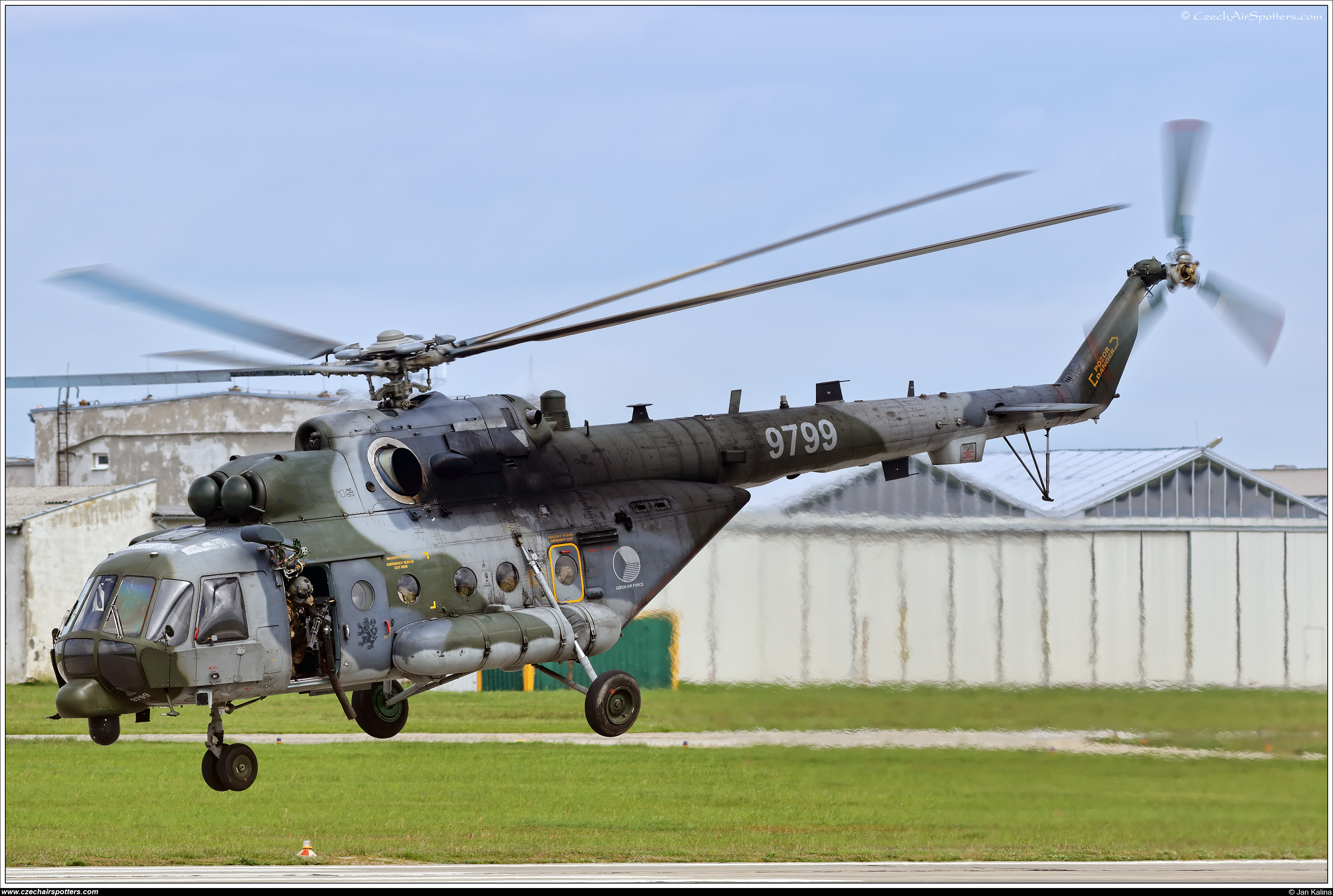 Czech - Air Force – Mil Mi-171Sh Hip  9799
