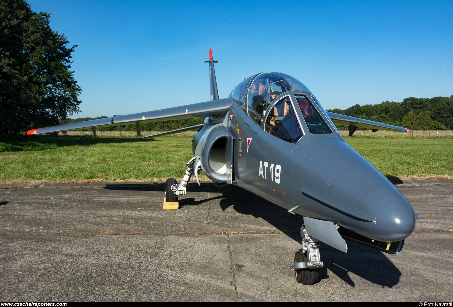 Belgium - Air Force – Dassault-Dornier Alpha Jet 1B+ AT19