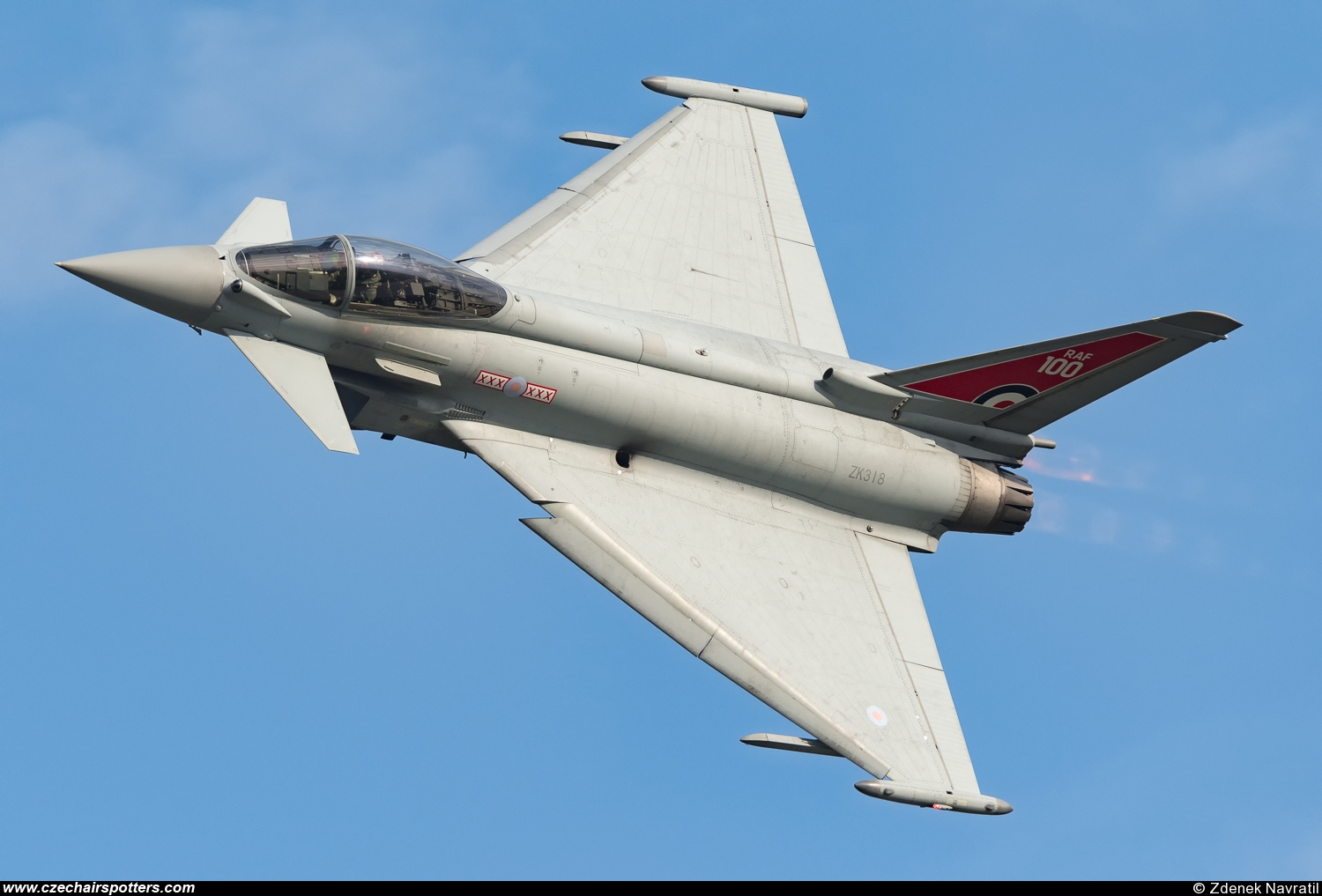 Royal Air Force – Eurofighter EF-2000 Typhoon FGR4 ZK318