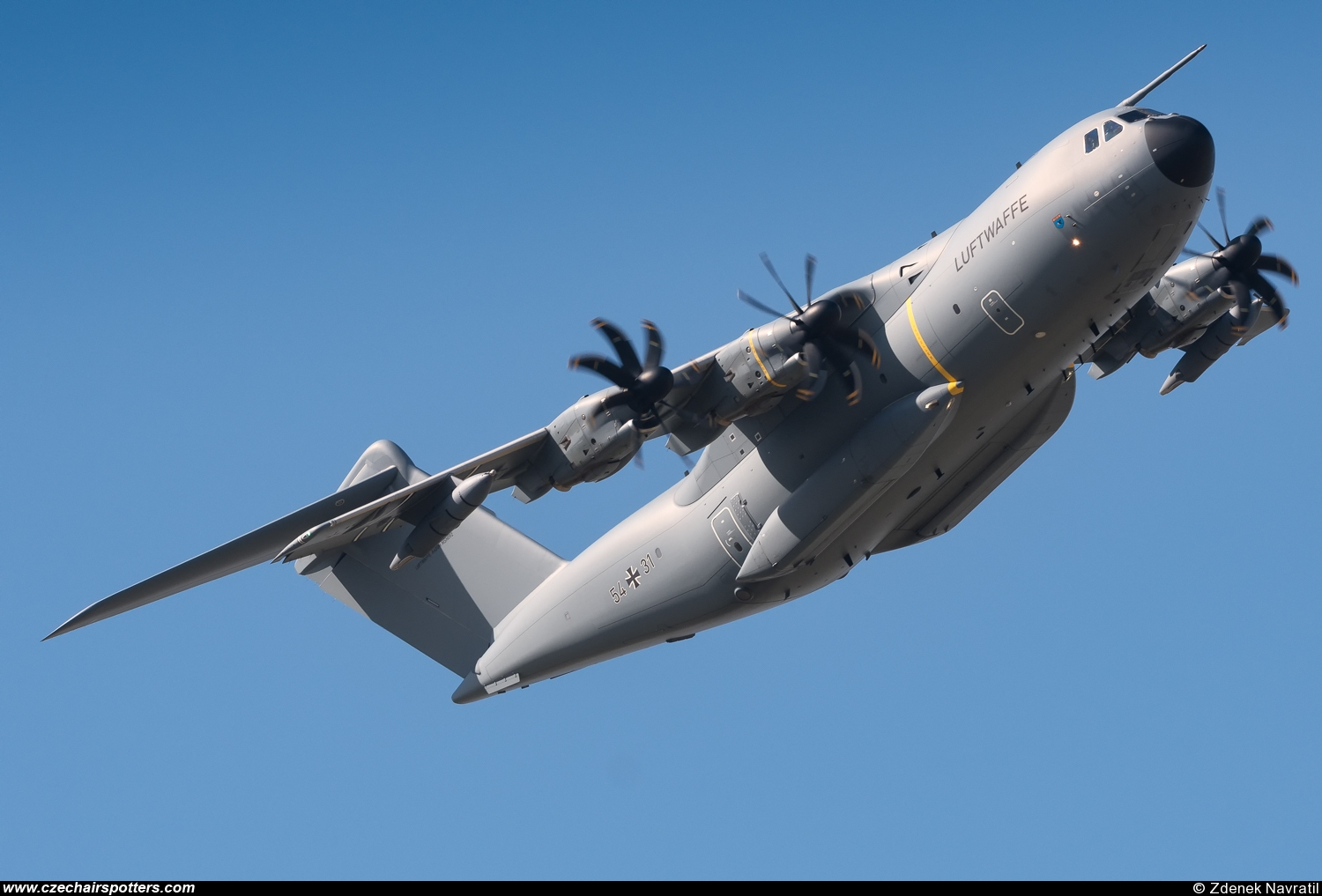 Germany - Air Force – Airbus Military A400M Atlas 54+31