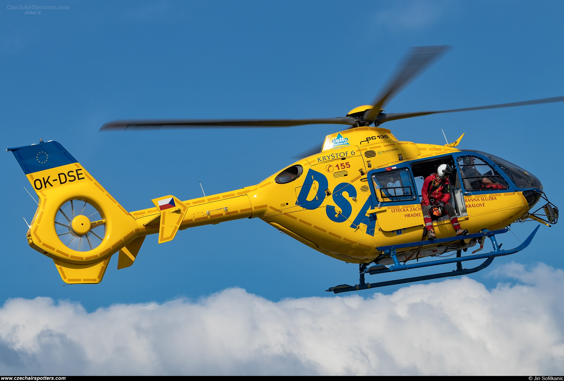 Delta System-AIR a.s. – Eurocopter EC 135 T2+ OK-DSE