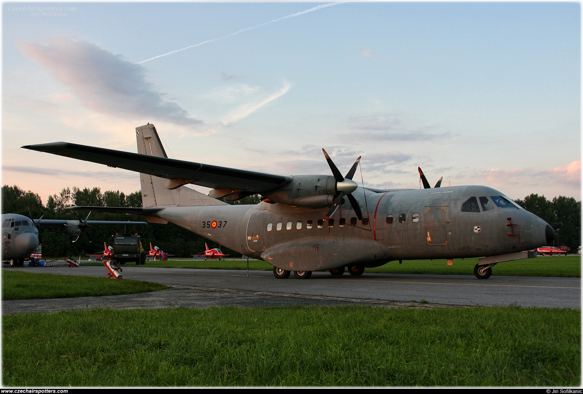 Spain - Air Force – Airtech CN-235-100M T19B-19 / 35-37
