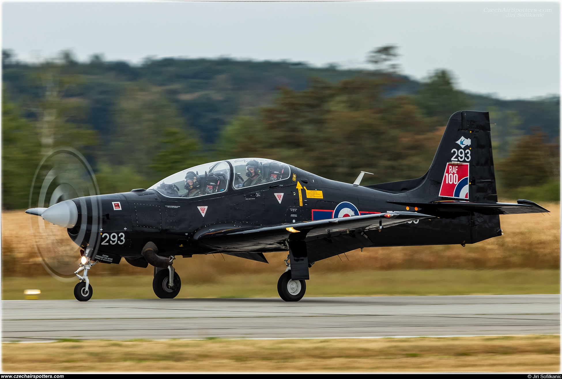 Royal Air Force – Short Tucano T1 ZF293